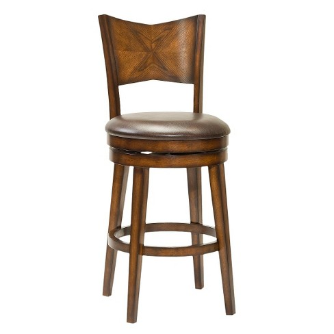 "Jenkins 30.5"" Barstool Wood Composite/Brown - Hillsdale Furniture - image 1 of 1"
