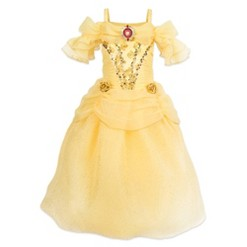 Girl's Beauty and the Beast Belle Costume - 4T - Disney store, Women's, Yellow