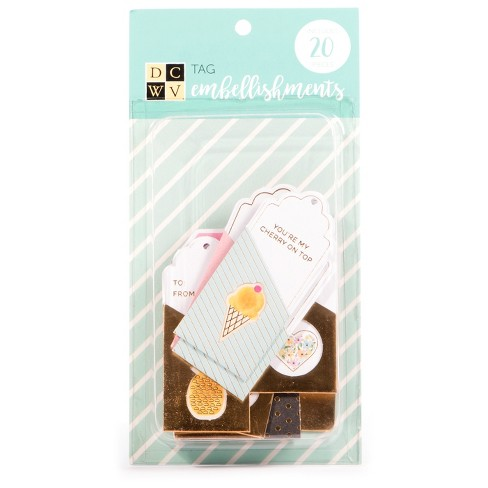 DCWV® Tag Embellishments, 20ct - image 1 of 1