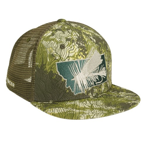 RepYourWater Montana Dry Fly High Profile Mesh Back Hat