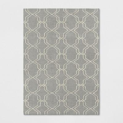 5'X7' Trellis Tufted Area Rugs Gray - Threshold™