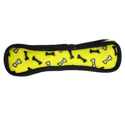 Tuffy Ultimate Bone Dog Toy - Yellow