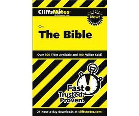 Cliffsnotes the Bible (Paperback) (Charles H. Patterson) - image 1 of 1
