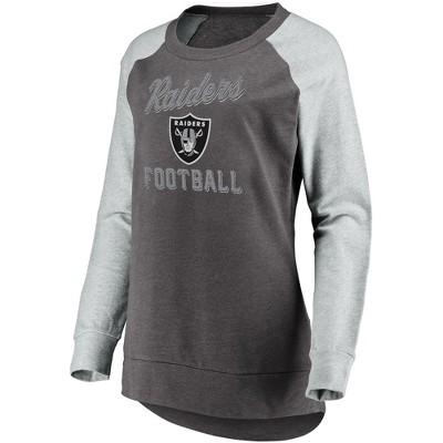 raiders womens sweatshirt