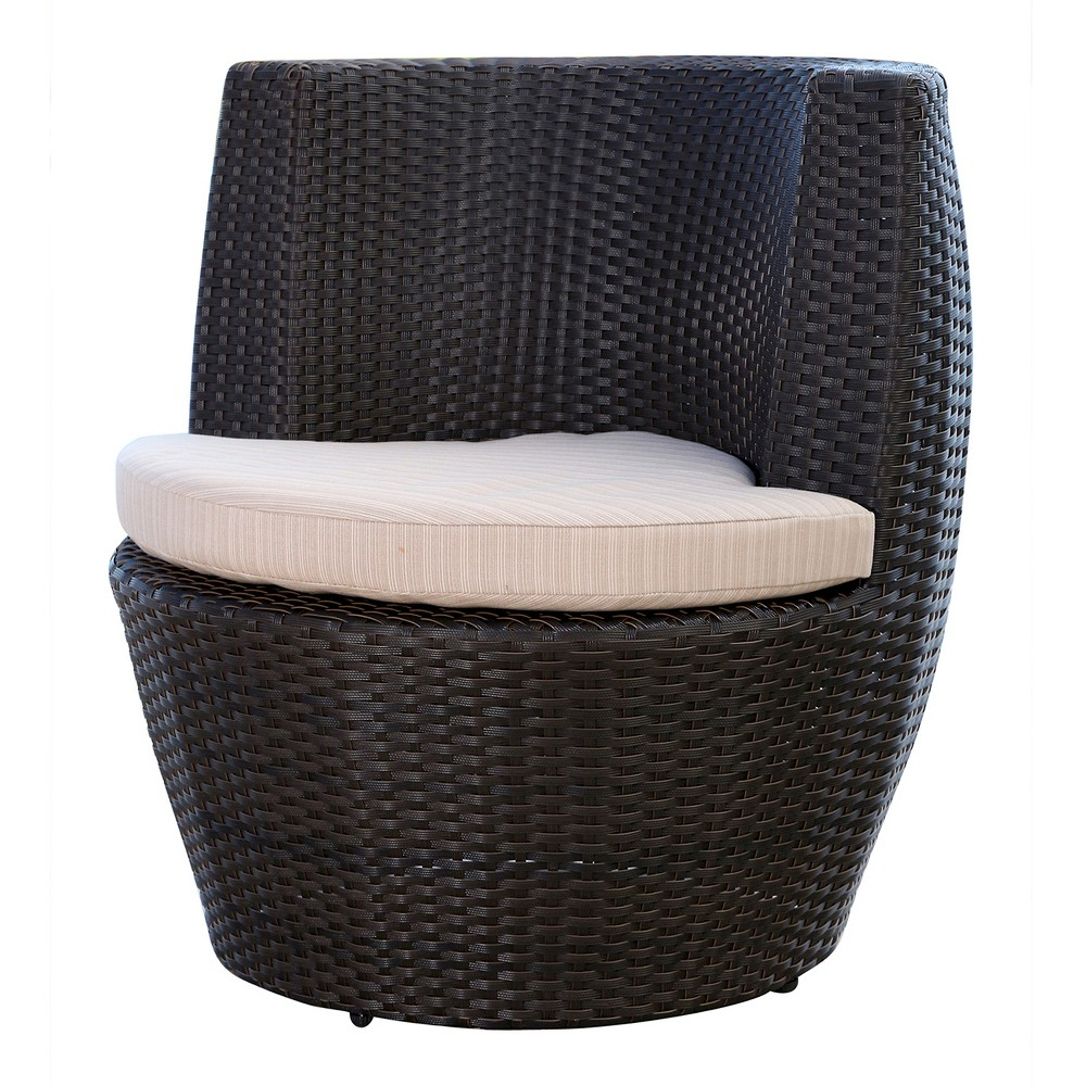 Marvelous Newport Outdoor Wicker Bistro Chair Espresso Abbyson Living Caraccident5 Cool Chair Designs And Ideas Caraccident5Info