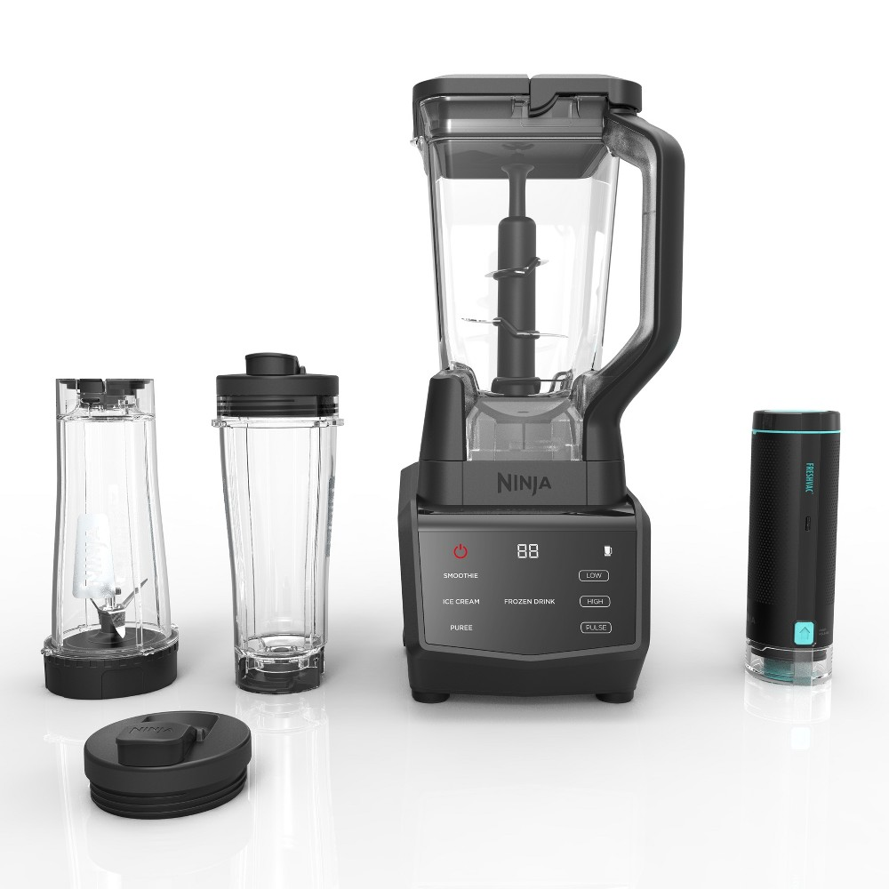 Ninja Smart Screen Blender Duo with FreshVac Technology – CT661V, Black/Silver 53659365
