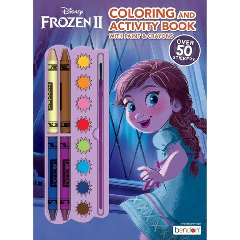 Frozen 2 Crayon & Paint - Target Exclusive Edition (Paperback) - image 1 of 3