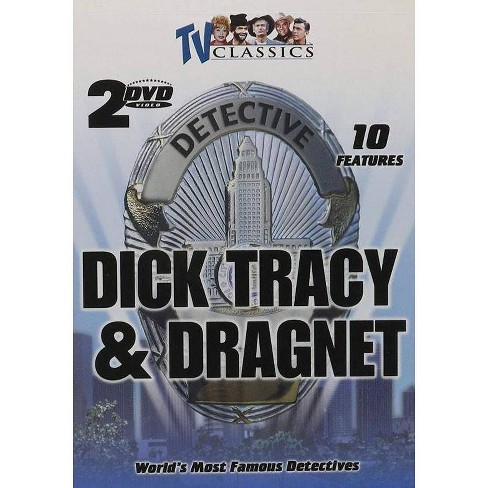 World's Most Famous Detectives: Dick Tracy & Dragnet (DVD) - image 1 of 1