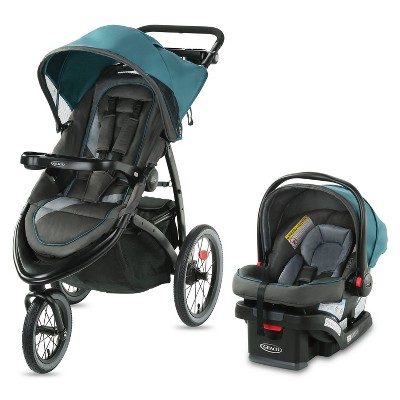 Graco FastAction Jogger LX Travel System - Seaton