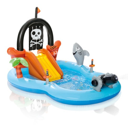 """Intex 97"""" x 76"""" x 59"""" Pirate Play Center Inflatable Pool with Sprayer - image 1 of 2"""