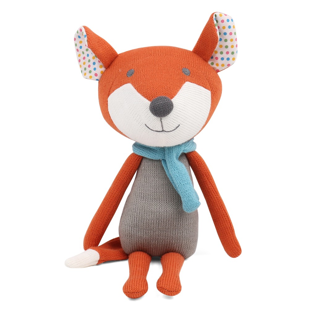Image of Peanut Shell Francis the Fox Knit Plush