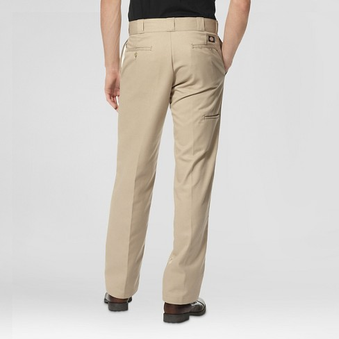 a80567d082c Dickies® Men s Regular Straight Fit Twill Work Pants With Extra Pocket-  Khaki 30x30   Target