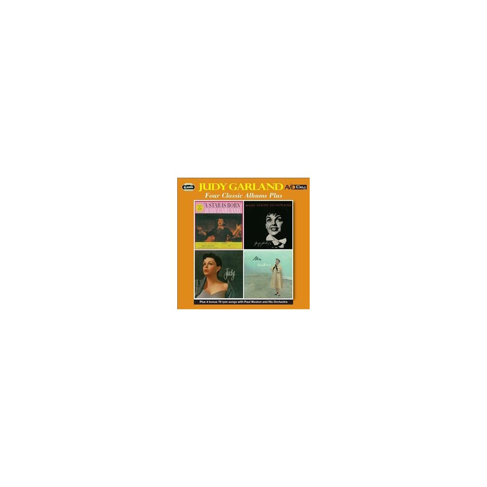 Judy Garland - Star Is Born/Miss Show Business/Judy/ (CD)