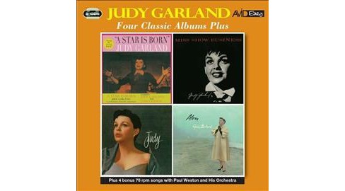 Judy Garland - Star Is Born/Miss Show Business/Judy/ (CD) - image 1 of 1
