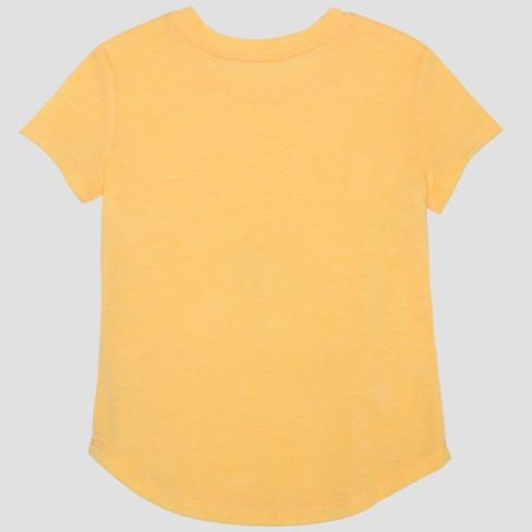 c87f3d48d1d Toddler Girls  Hasbro My Little Pony Rainbow Dash Short Sleeve T-Shirt -  Yellow   Target
