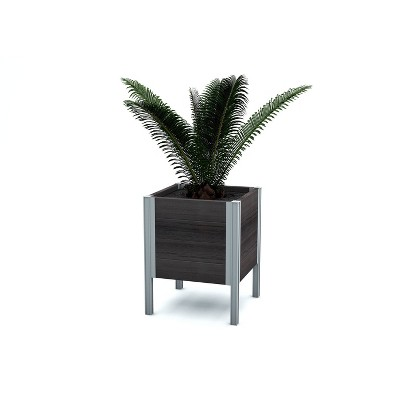 Urbana Raised Rectangular Planter - New England Arbors