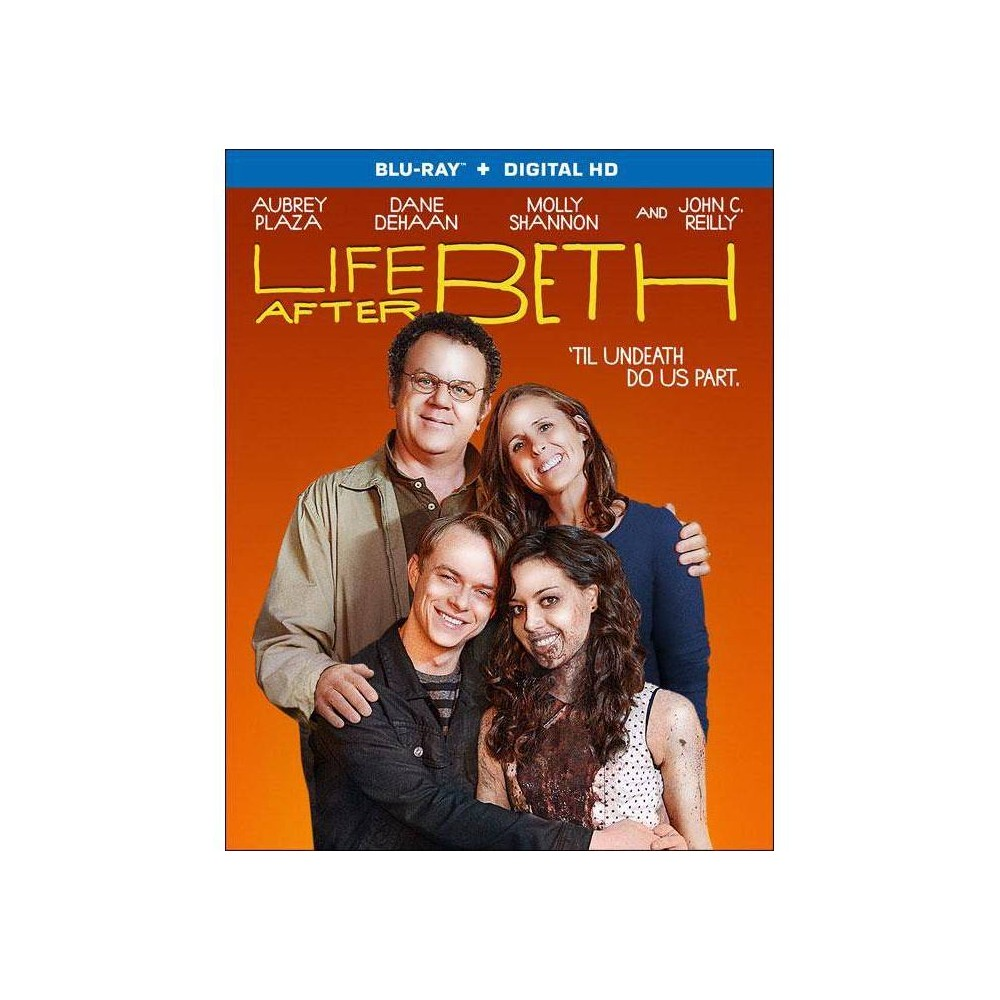 Life After Beth Blu Ray 2014