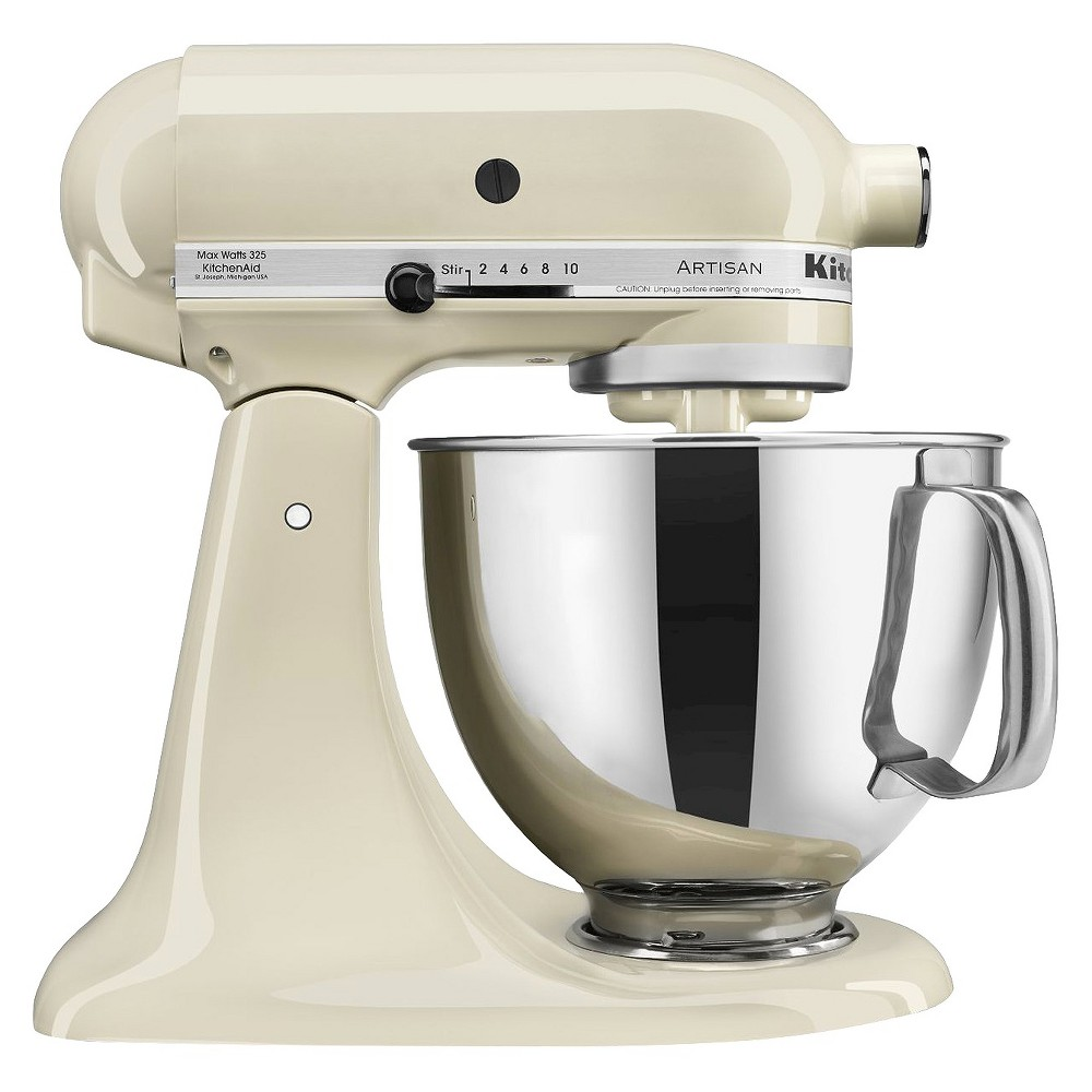 KitchenAid Artisan Series 5 Quart Tilt-Head Stand Mixer- Ksm150, Ivory 10060047