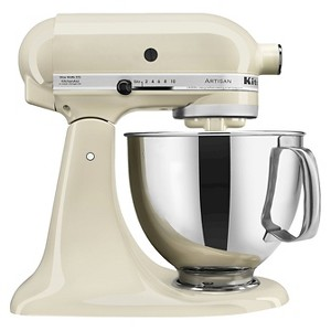 KitchenAid Artisan Series 5 Quart Tilt-Head Stand Mixer- Ksm150, Ivory