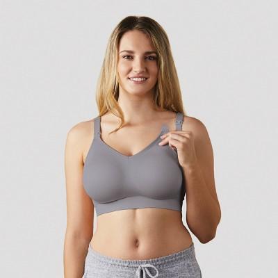 Bravado! Designs Women's Body Silk Seamless Nursing Bra - Silver Belle XL