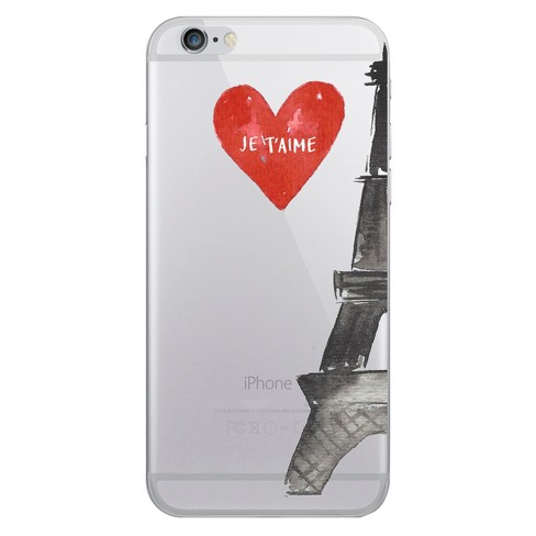 Apple iPhone 8/7/6s/6 Case Hybrid Eifel Tower Clear - OTM Essentials - image 1 of 1