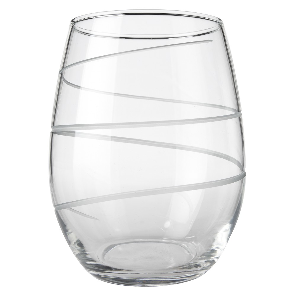 Rolf Glass Spiral 21oz 4pk Red Wine Glasses
