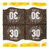 """Sparkle and Bash 100Pcs Cheers Beers to 30 Years Disposable Paper Napkin 6.5"""" for Birthday Party Décor Supplies - image 4 of 4"""