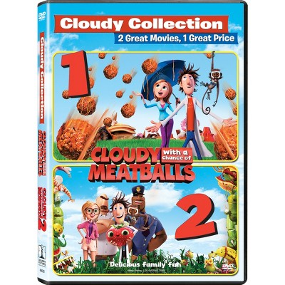 Cloudy with a Chance of Meatlballs 1 & 2 DF (DVD)