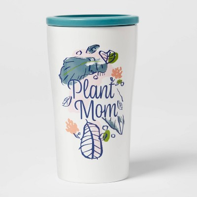 10oz Stoneware Plant Mom Tumbler with Lid - Opalhouse™