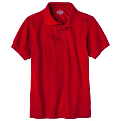 Dickies Little Boys' Pique Uniform Polo Shirt