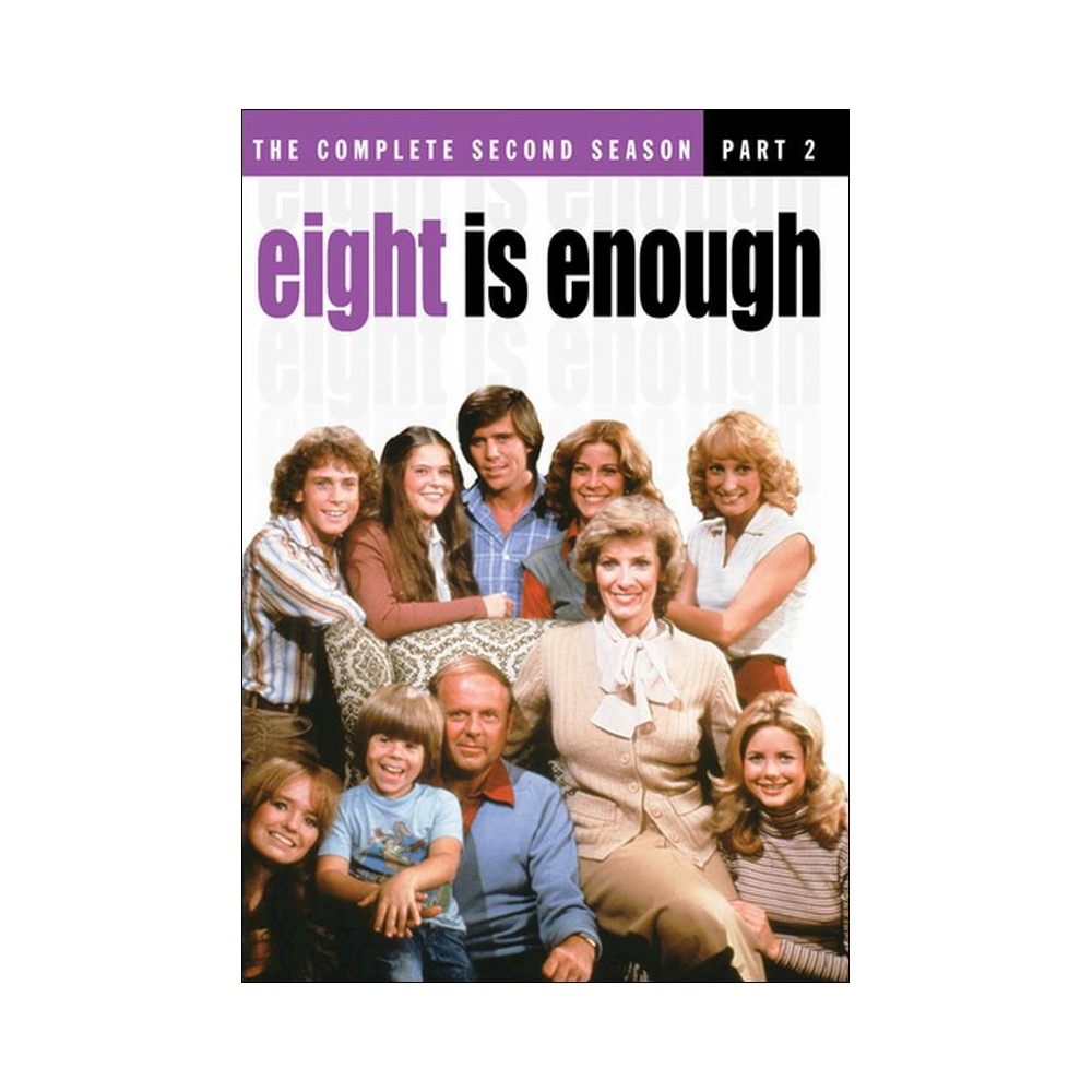 Eight is enough:Complete ssn2 part 2 (Dvd)