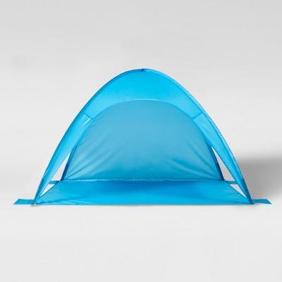 Pop-Up Beach Shelter Blue - Sun Squad™