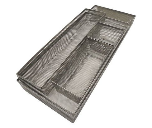 Mesh Drawer Organizer Silver - Room Essentials™ - image 1 of 1