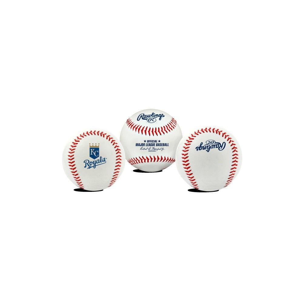 Kansas City Royals Rawlings Team Logo Baseball