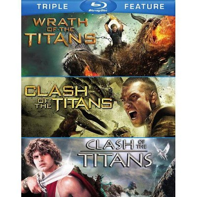 Clash of the Titans (2010) / Clash of the Titans (1981) / Wrath Of The Titans (Blu-ray)(2015)