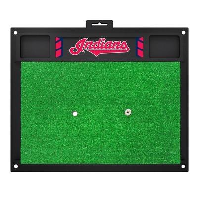 MLB Cleveland Indians Golf Hitting Mat