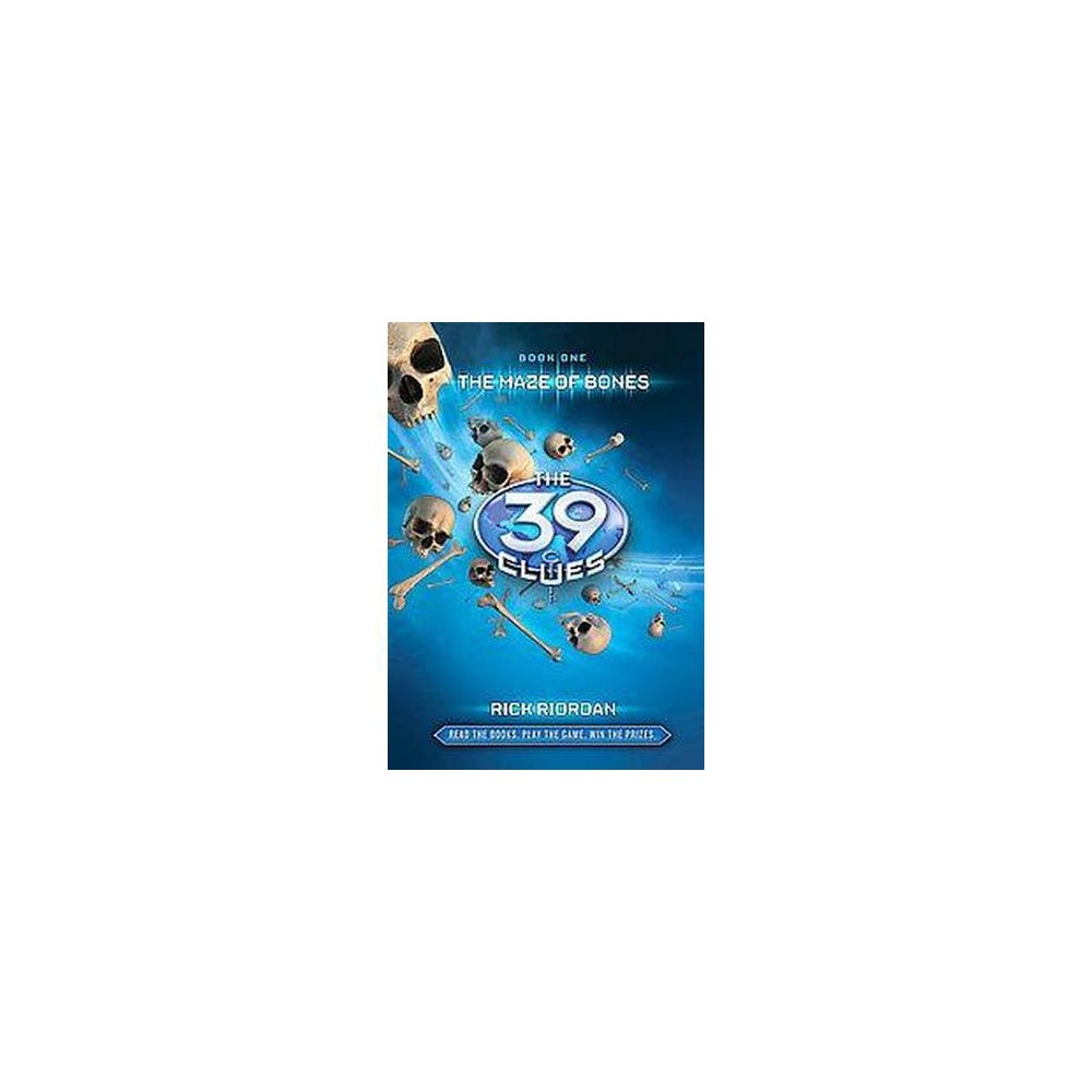 Maze Of Bones 39 Clues By Rick Riordan Hardcover