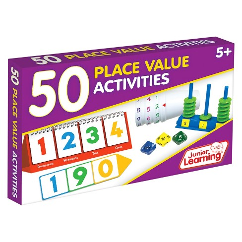 Junior Learning® 50 Place Value Activities Learning Set - image 1 of 3