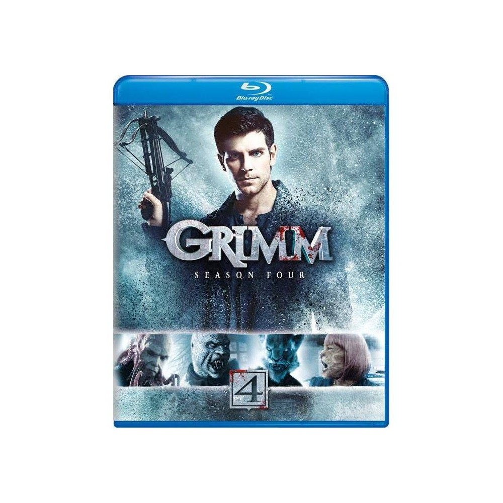 Grimm Season Four Blu Ray