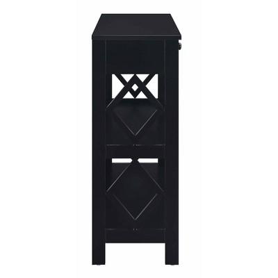 Diamond 1 Drawer Console Table - Johar Furniture