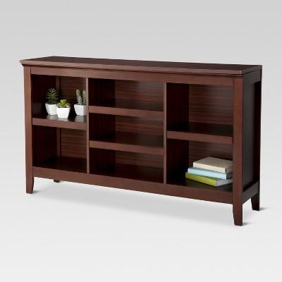 32 carson horizontal bookcase threshold target rh target com