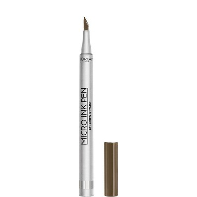 L'Oreal Paris Brow Stylist Micro Ink Pen by Brow Stylist Up to 48HR Wear - 0.033 fl oz
