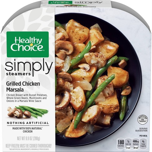 Healthy Choice Caf Steamers Frozen Grilled Chicken Marsala with Mushrooms - 9.9oz - image 1 of 3