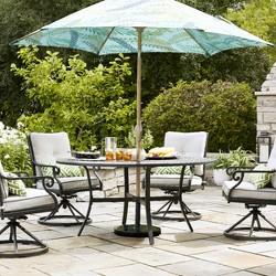 Chester 5pc Aluminum Patio Dining Set - Threshold™