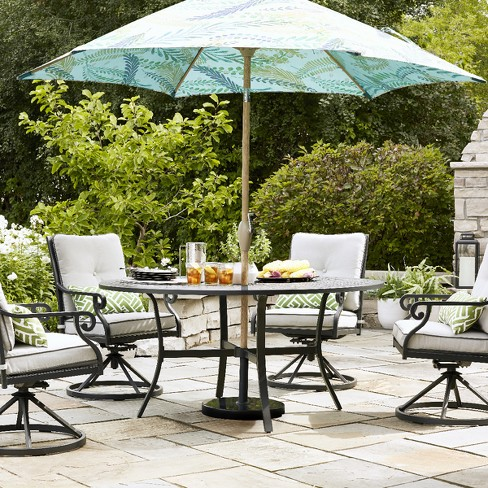 Chester 5pc Aluminum Patio Dining Set - Threshold™ - image 1 of 7