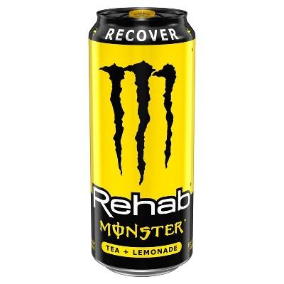 Monster Rehab, Tea + Lemonade - 15.5 fl oz Can
