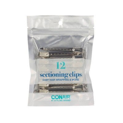 Conair Metal Styling Clips Value Pack  - 12pc