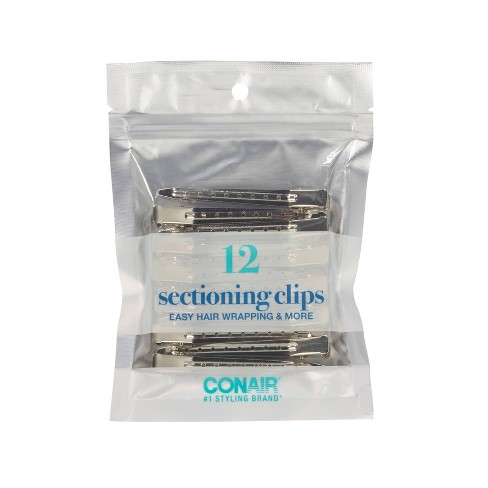 Conair Metal Styling Clips Value Pack  - 12pc - image 1 of 3