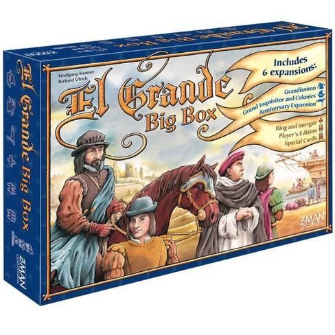 Zman Games El Grande Big Box Board Game - image 1 of 1