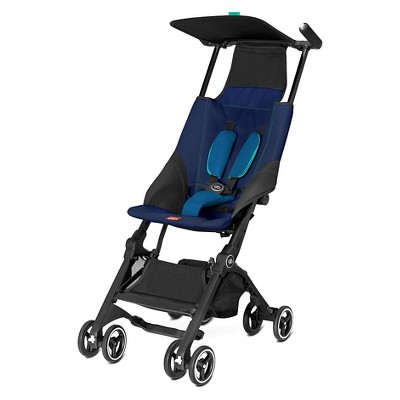 Gb Pockit Compact Stroller - Sea Port Blue